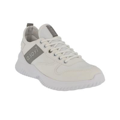 a.soyi Sneaker Norang white