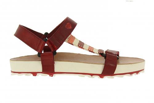 Damen Sandale in Rot